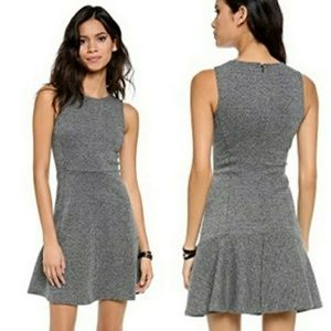 Theory Nikay D Kenmore Tweed Fit & Flare Dress CIK